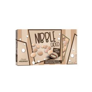 NIBBLE CHOCO SFUMATI AVORIO - 500g